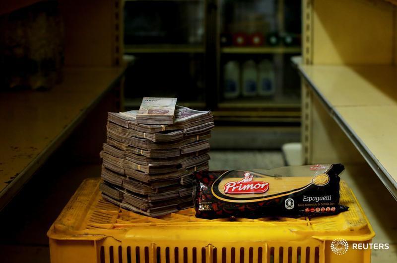 Un kilo de pasta, 2.5 millones de bolívares