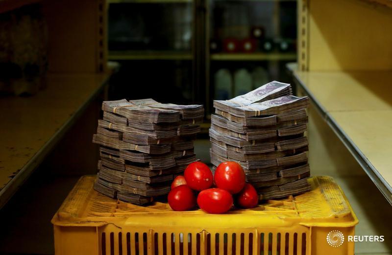 Un kilo de tomates, 5 millones de bolívares