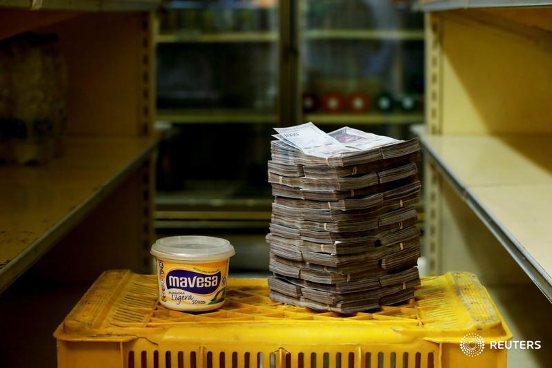 Un pote de medio kilo de margarina, 3 millones de bolívares