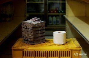 Un rollo de papel higénico 2.6 millones de bolívares