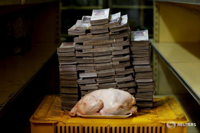 Una gallina, 14.6 millones de bolívares