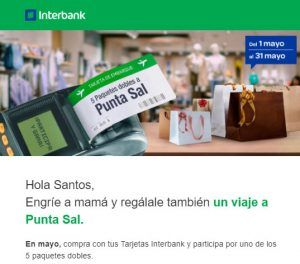 Términos y Condiciones engañosos en promociones de Interbank