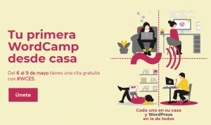 Tu primera WordCamp desde casa